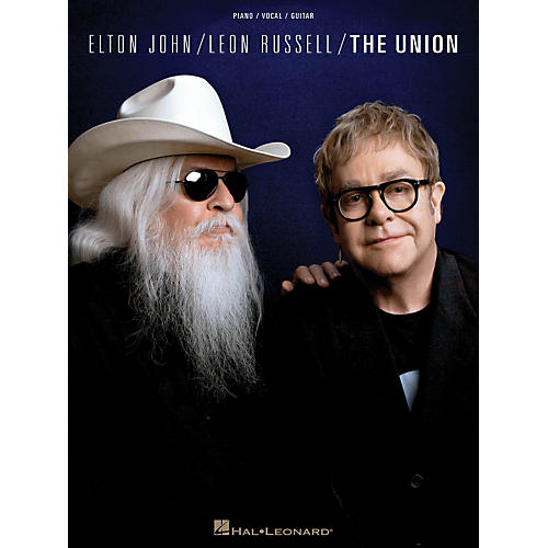 Hal Leonard Elton John/Leon Russell - The Union PVG Songbook