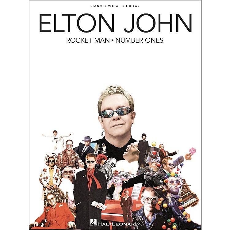 Hal LeonardElton John Rocket Man Number Ones arranged for piano, vocal, and guitar (P/V/G)