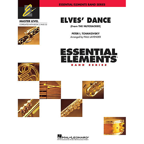 Hal Leonard Elves' Dance (from The Nutcracker) Concert Band Level 2 Arranged by Paul Lavender-thumbnail