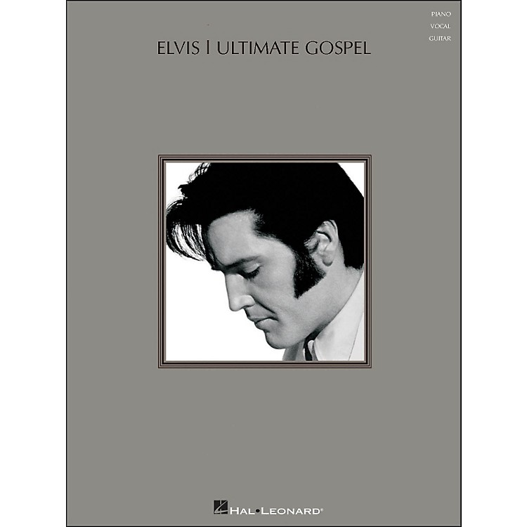 Hal Leonard Elvis - Ultimate Gospel arranged for piano, vocal, and guitar (P/V/G)