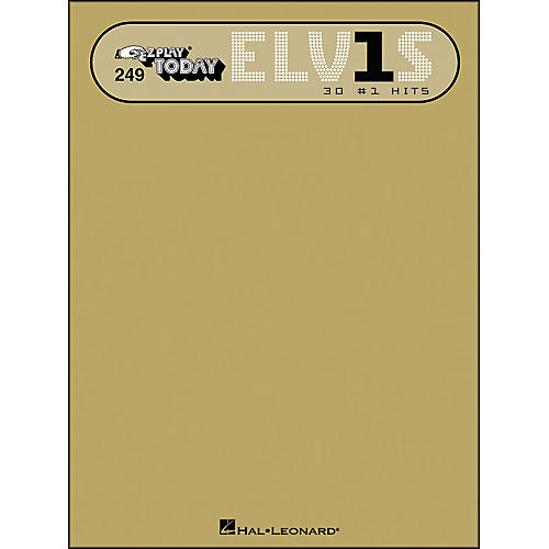 Hal Leonard Elvis 30 #1 Hits E-Z Play 249-thumbnail