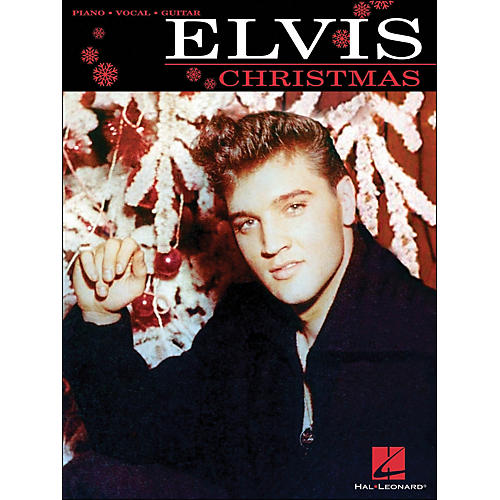 Hal Leonard Elvis Christmas arranged for piano, vocal, and guitar (P/V/G)