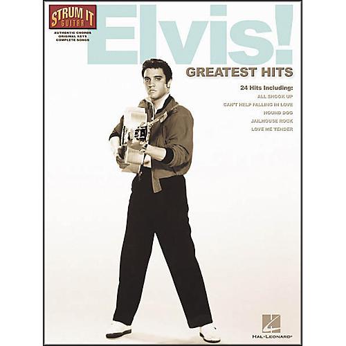 Hal Leonard Elvis! Greatest Hits Guitar Tab Songbook