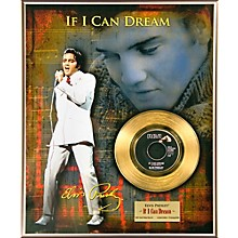 24 Kt. Gold Records Elvis Presley - If I Can Dream Gold 45 Limited Edition of 2500