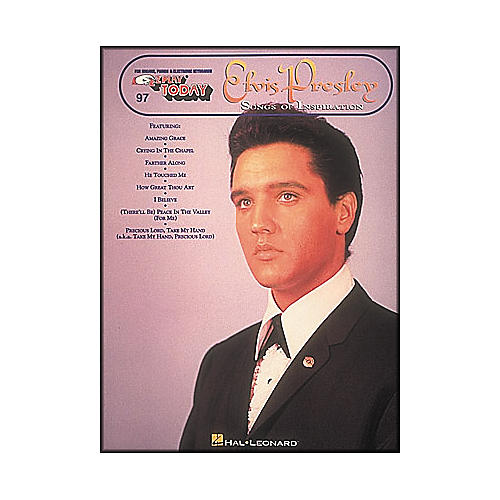 Hal Leonard Elvis Presley - Songs Of Inspiration E-Z Play 97