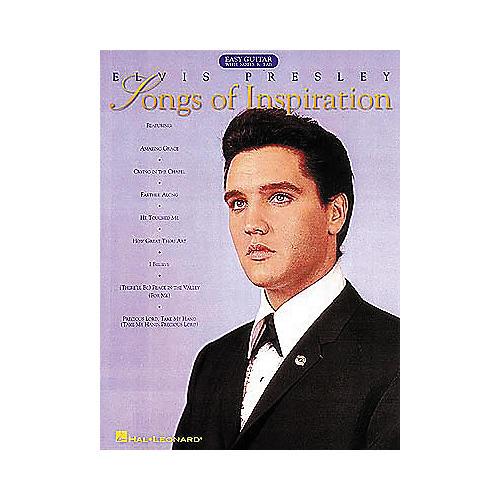 Hal Leonard Elvis Presley - Songs of Inspiration Easy Guitar Tab Songbook-thumbnail