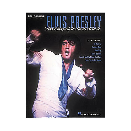 Hal Leonard Elvis Presley - The King Of Rock and Roll Book