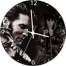 """Vandor Elvis Presley 13.5"""" Cordless Clock"""
