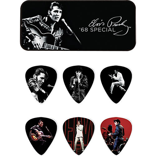 Dunlop Elvis Presley '68 Special Pick Tin with 6 Medium Picks