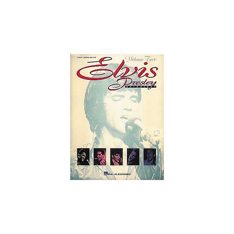 Hal Leonard Elvis Presley Anthology - Volume 2 Songbook