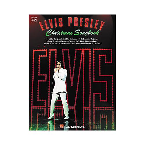 Hal Leonard Elvis Presley Christmas Piano, Vocal, Guitar Songbook-thumbnail