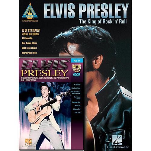 Hal Leonard Elvis Presley Guitar Pack Book/DVD-thumbnail
