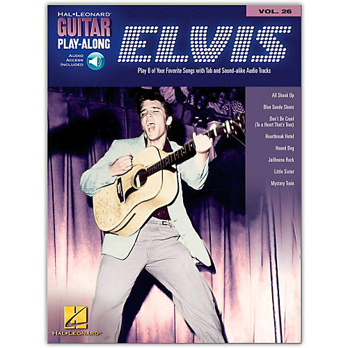 Hal Leonard Elvis Presley Guitar Play-Along Series Book & CD