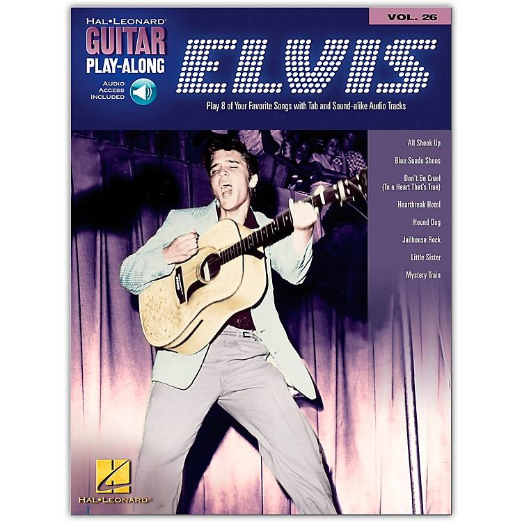 Hal LeonardElvis Presley Guitar Play-Along Series Book & CD