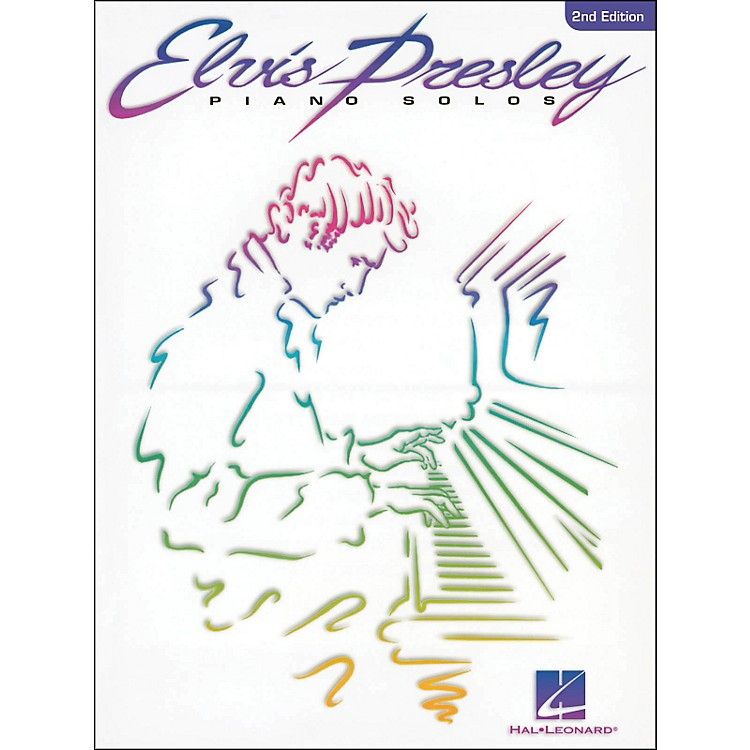 Hal Leonard Elvis Presley Piano Solos 2nd Edition