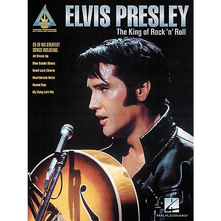 Hal LeonardElvis Presley The King of Rock 'n' Roll Guitar Tab Songbook