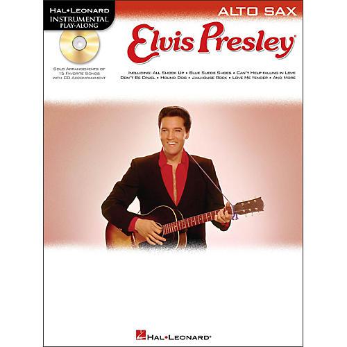 Hal Leonard Elvis Presley for Alto Sax - Instrumental Play-Along Book/CD Pkg-thumbnail