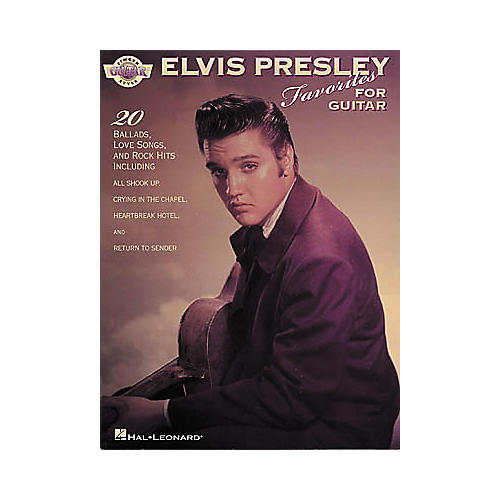 Hal Leonard Elvis Presley for Fingerstyle Guitar Book
