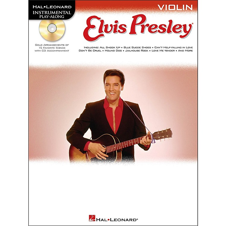 Hal Leonard Elvis Presley for Violin - Instrumental Play-Along Book/CD Pkg