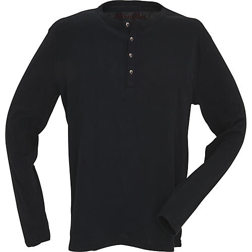 Dragonfly Clothing Company Embroidered Skull Henly Shirt-thumbnail