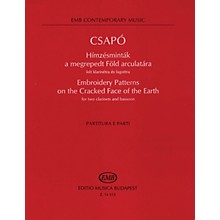 Editio Musica Budapest Embroidery Patterns on the Cracked Face of the Earth (Score and Parts) EMB Series Composed by Csapó Gyula