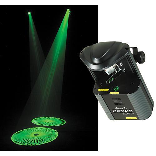 American DJ Emerald Scan II Green Laser System