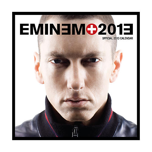 Browntrout Publishing Eminem 2013 Square Calendar
