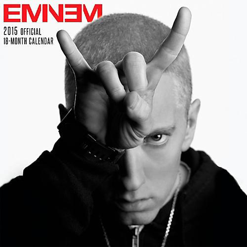 Browntrout Publishing Eminem 2015 Calendar Square 12x12-thumbnail