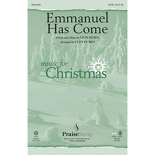 PraiseSong Emmanuel Has Come ORCHESTRA ACCOMPANIMENT Arranged by Cliff Duren-thumbnail