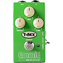 T-Rex Engineering Emmie Delay with Boost Guitar Effects Pedal