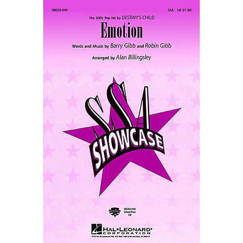 Hal Leonard Emotion ShowTrax CD by Destiny's Child Arranged by Alan Billingsley-thumbnail