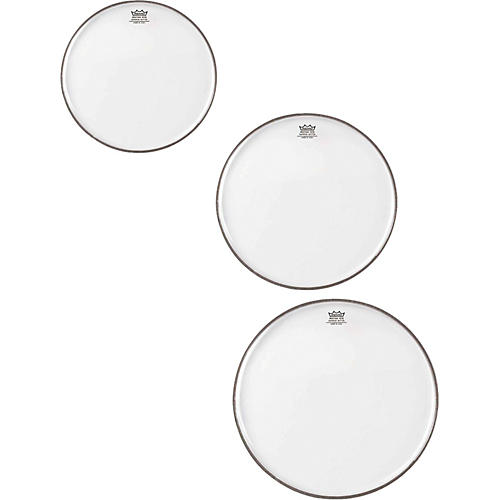Remo Emperor Clear Tom Rock Drumhead Pack-thumbnail