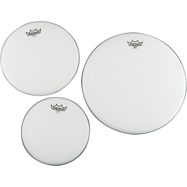 RemoEmperor Coated New Fusion Tom Drumhead Pack