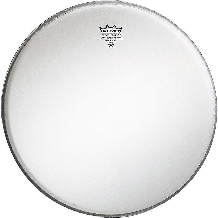 RemoEmperor Coated White Bass Drum Head