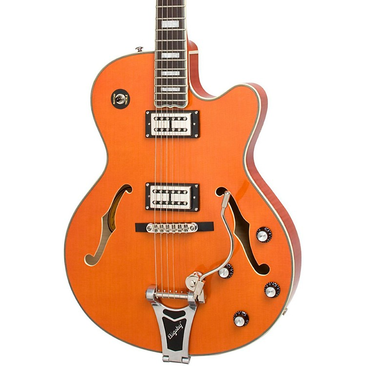 Epiphone Emperor Swingster Hollowbody Electric Guitar Sunrise Orange