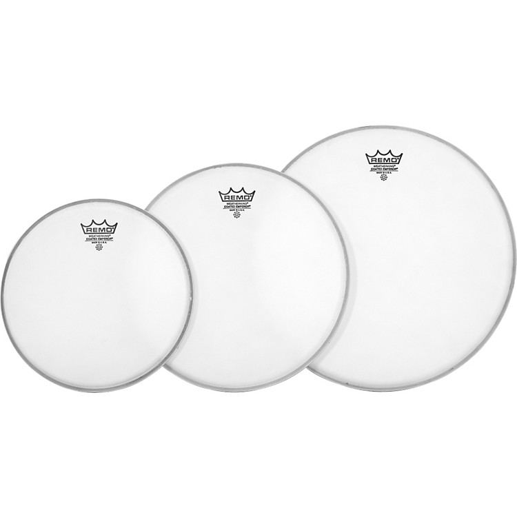 Remo Emperor Tom Drumhead Pack Standard Clear
