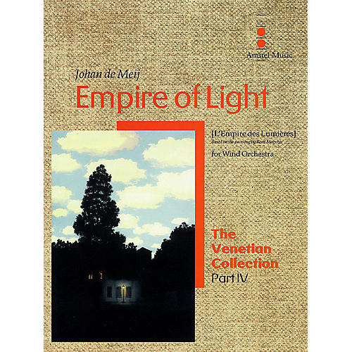 Amstel Music Empire of Light (The Venetian Collection) Concert Band Level 5 Composed by Johan de Meij-thumbnail