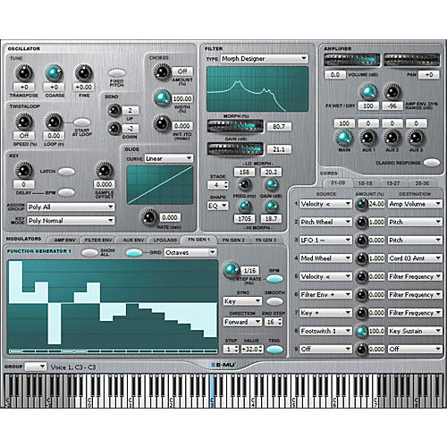 E-mu Emulator X2 Software Sampler