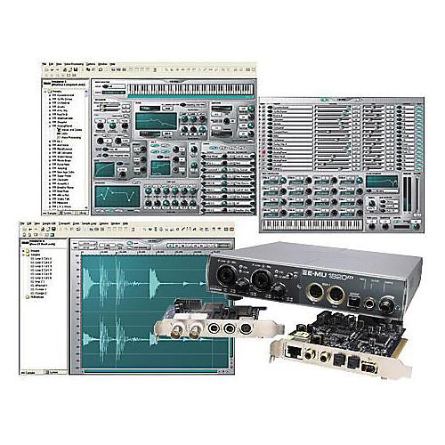 E-mu EmulatorX Studio Sampler with 1820M PCI card