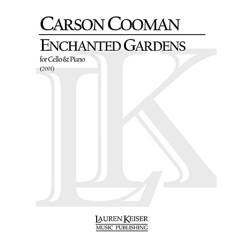Lauren Keiser Music Publishing Enchanted Gardens (Cello with Piano) LKM Music Series Composed by Carson Cooman-thumbnail