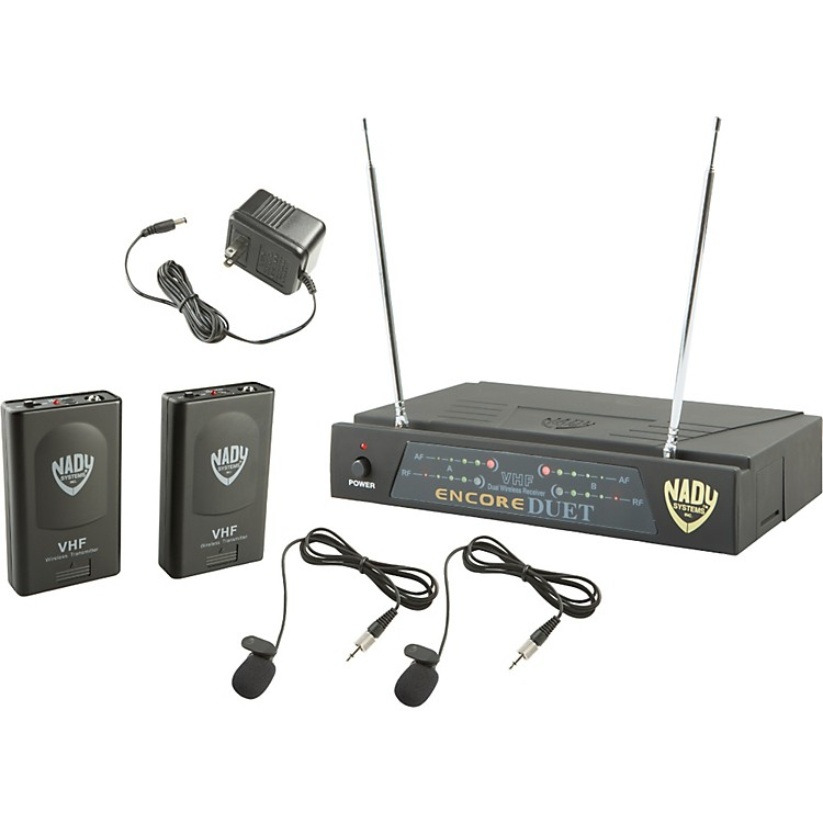Nady Encore DUET LT/O Wireless System Ch A1&D