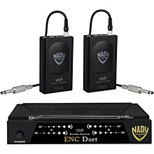 Nady Encore Duet Dual Wireless Instrument System Band B and D