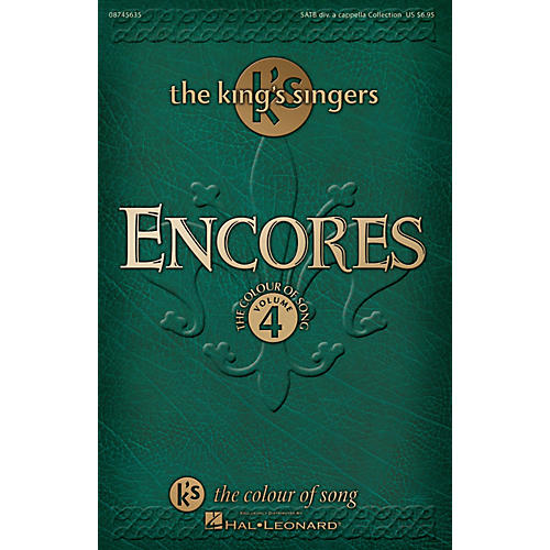 Hal Leonard Encores - The King's Singers Colour of Song, Volume 4 SATB DV A Cappella by The King's Singers-thumbnail