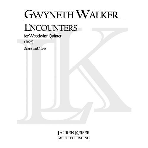 Lauren Keiser Music Publishing Encounters (for Woodwind Quintet) LKM Music Series by Gwyneth Walker-thumbnail