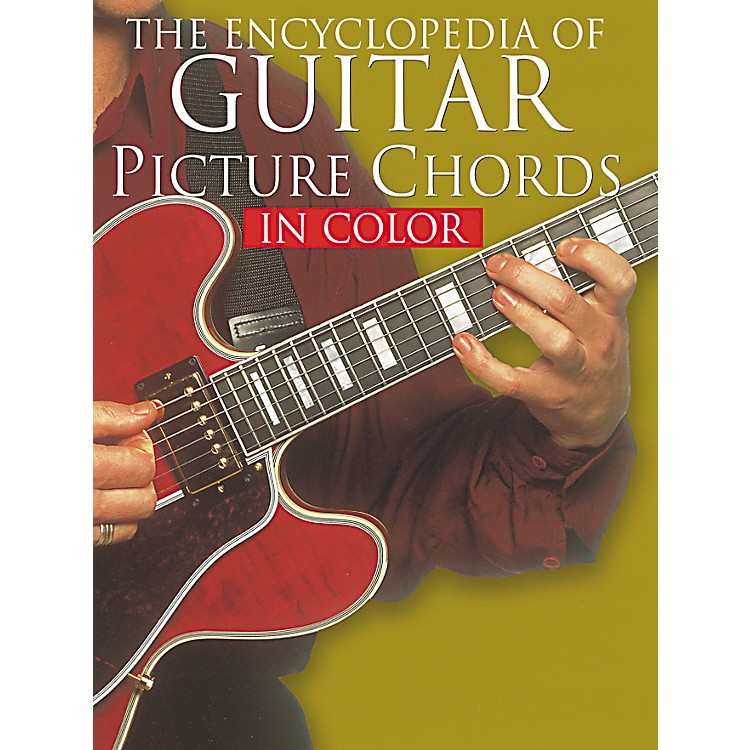 Music Sales Encyclopedia of Guitar Picture Chords in Full Color (Book)