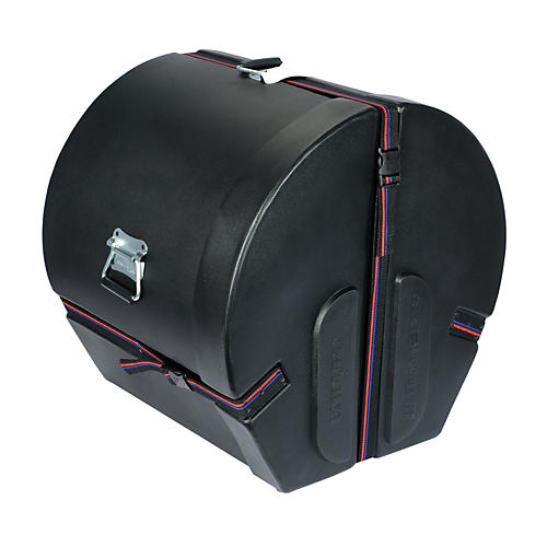 Humes & Berg Enduro Bass Drum Case with Foam Black 14x18