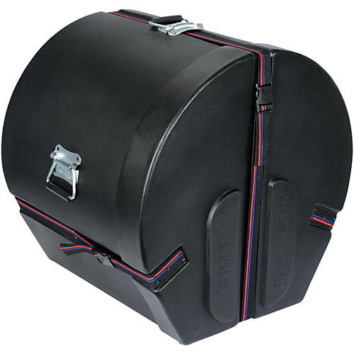 Humes & Berg Enduro Bass Drum Case with Foam Black 14x20