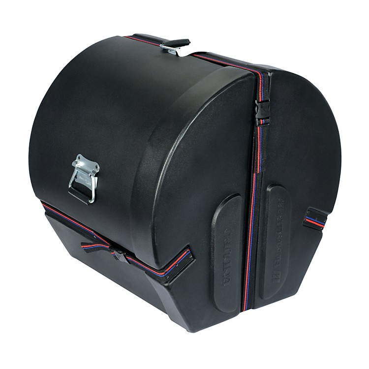 Humes & Berg Enduro Bass Drum Case with Foam Black 16x20