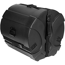 Humes & Berg Enduro Pro Bass Drum Case with Foam Black 22 x 16 in.