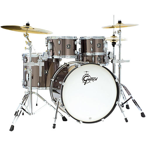 Gretsch Drums Energy 5-Piece Drum Set With Hardware and Sabian Cymbals
